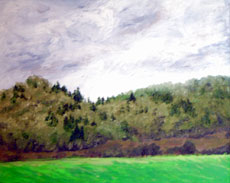 Bald Hill, 16 x 20 inches, SOLD