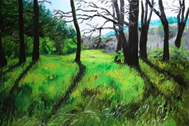 Bald Hill 2, 24 x 36 inches, SOLD