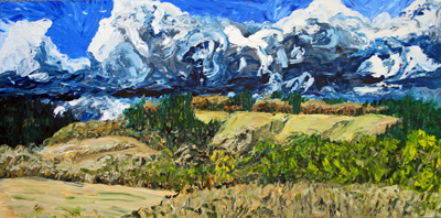 North of Corvallis, 48 x 67 inches, $700.00