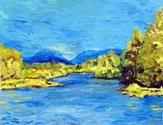 Willamette Spring, 14 x 18 inches, $500.00